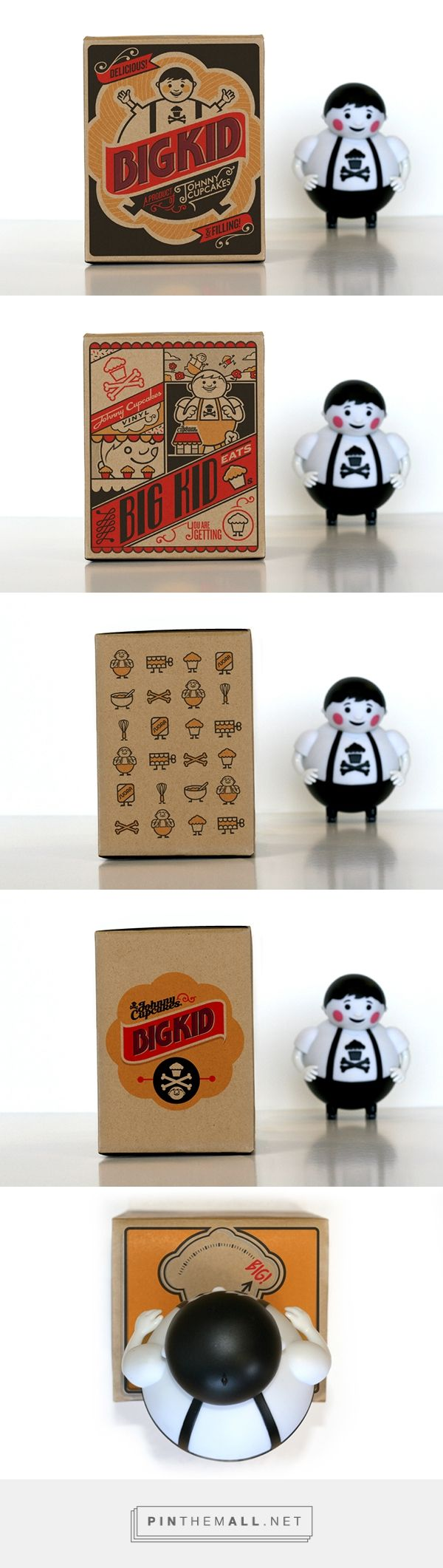 Big Kid Vinyl Toy Packaging - Johnny Cupcakes