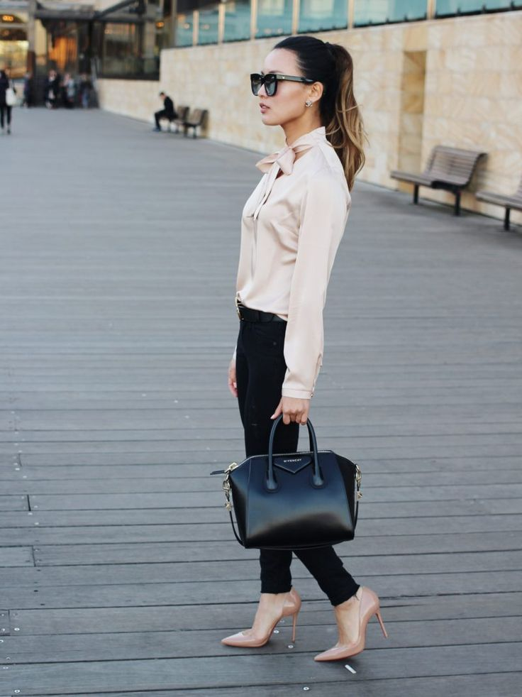 Top 5 pieces that take you from the office to evening out, Givenchy antigona outfit