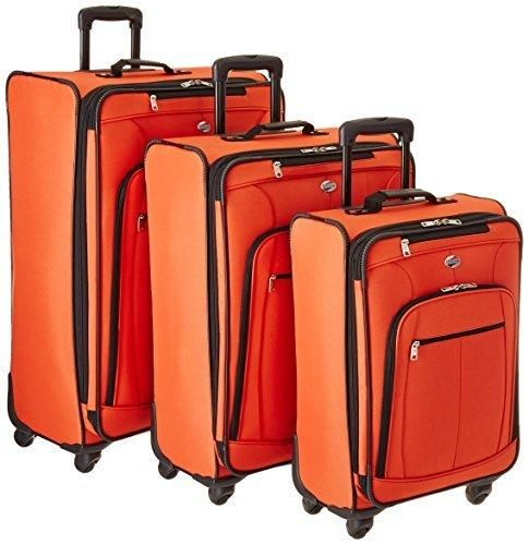 American Tourister At Pops Plus 3 Piece Nested Set Orange One Size