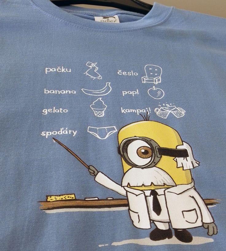 Farebné tričko s potlačou CMYK + biela