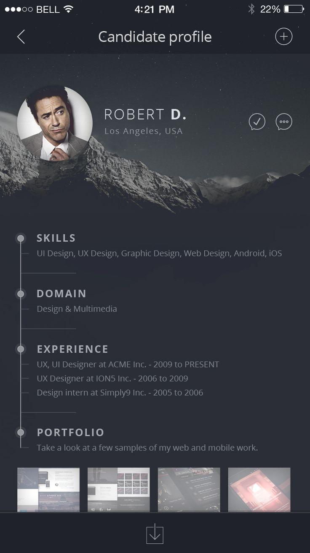 Candidate-profile-job-board-ios-app-iphone-6-dribbble2