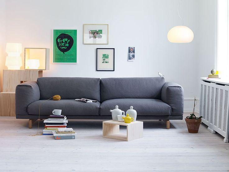 Rest 3-sitssoffa 3-sitssoffa   Muuto   Länna Möbler   Handla online