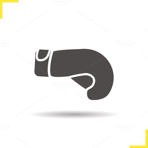 Boxing glove icon. Vector @creativework247