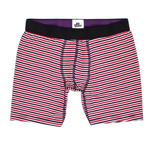 Modal #boxer. Red, White&Blue Stripes. http://www.erkekpaketi.com/kategori/79/ayin-tasarimi-agustos