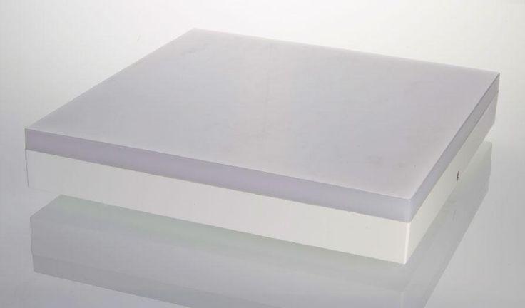 Plafón Led cuadrado lámpara de techo de aplicar 28 cm - GriscanDi