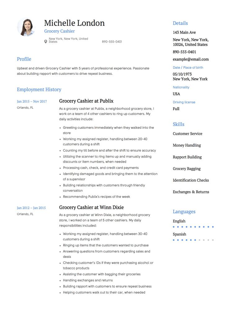 Best 25+ Cashiers resume ideas on Pinterest Artist resume - resume sample for cashier