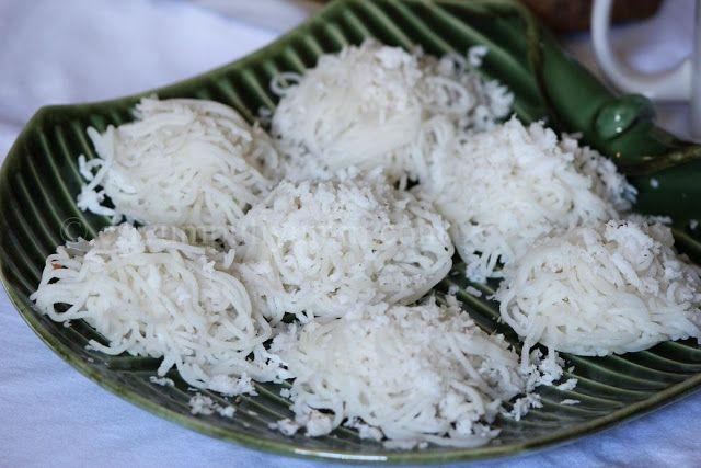 Erivum Puliyum: Idiyappam / Rice Noodles / String Hoppers & Mixed ...
