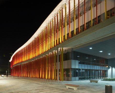 Reconversin Expo Zaragoza 2008 en la Nueva Ciudad de la Justicia, Saragozza, 2011 - Estudio Lamela