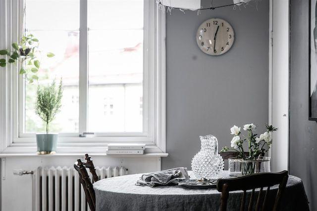 graue wand essplatz dining room pinterest graue. Black Bedroom Furniture Sets. Home Design Ideas