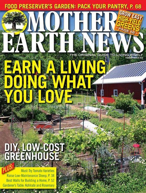 Mother Earth News Magazine