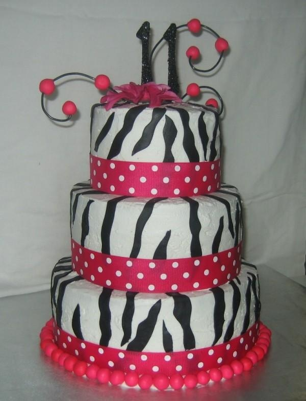 Pink Diva Cake 11 Year Old Female Birthday Party Party