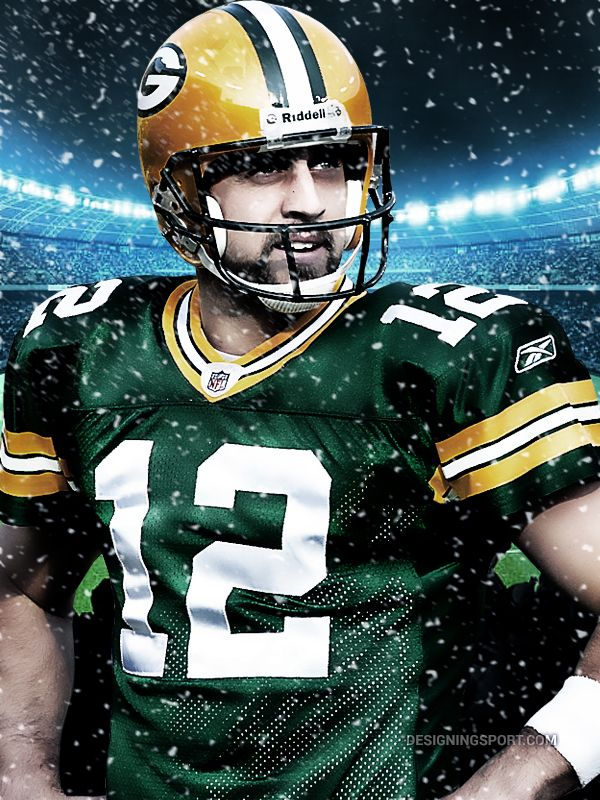 Aaron Rodgers, Green Bay Packers @ designingsport.com