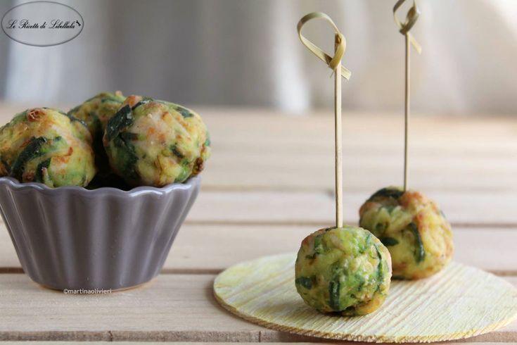 #Polpette di #pollo e #zucchine #ricetta #foodporn #gialloblogs