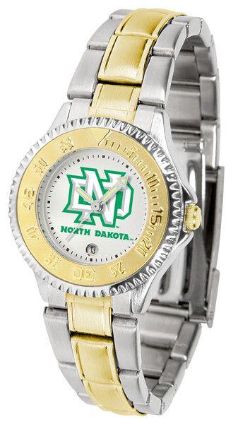 Ladies North Dakota Fighting Hawks - Competitor Two Tone Watch