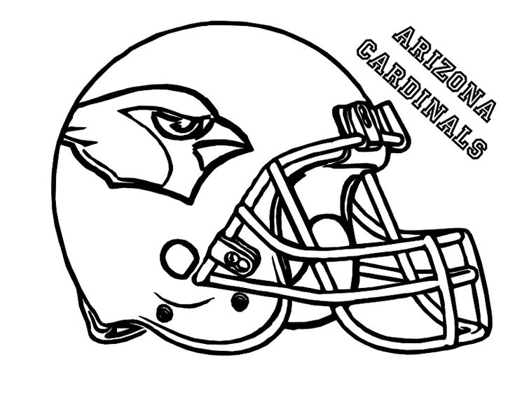 Image result for Printable Football Helmets to Color