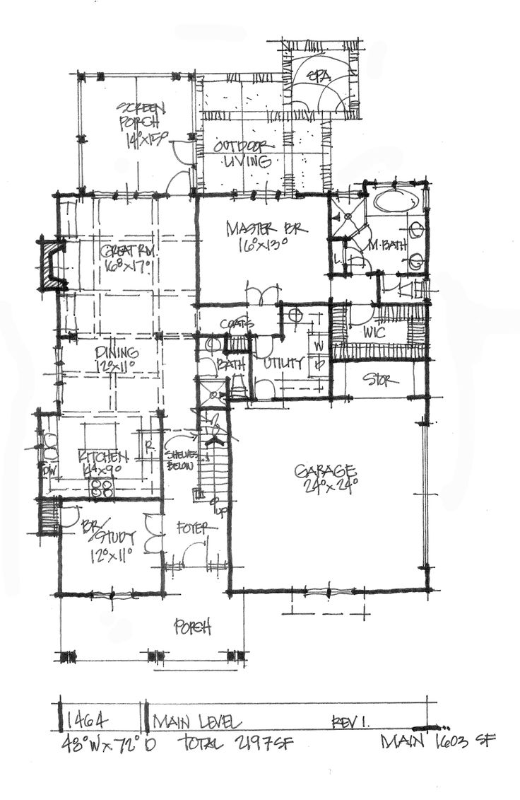 197 best conceptual plans images on pinterest floor plans conceptual house plan 1464 modern and compact