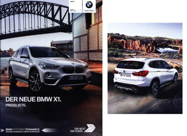 https://flic.kr/p/PvR6o8 | BMW X1. Der neue - Preisliste. (Daten Facts); 2016, 2015_1