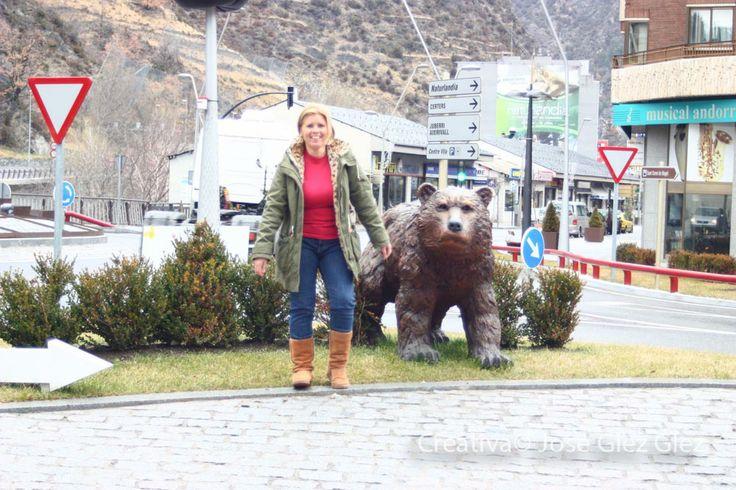 Entre osos y nieve en andorra