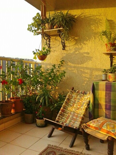 Best 25 small corner decor ideas on pinterest small for Balcony decoration ideas india