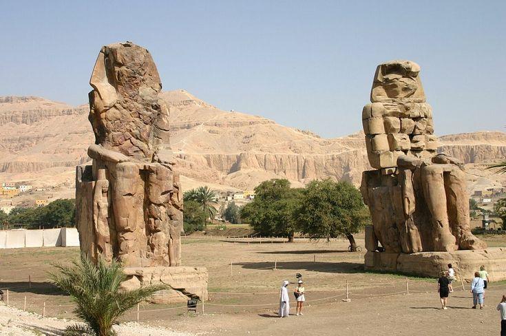 Colossi di Memnone - Wikipedia