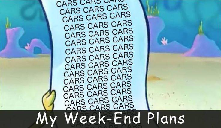 Week-End Plans