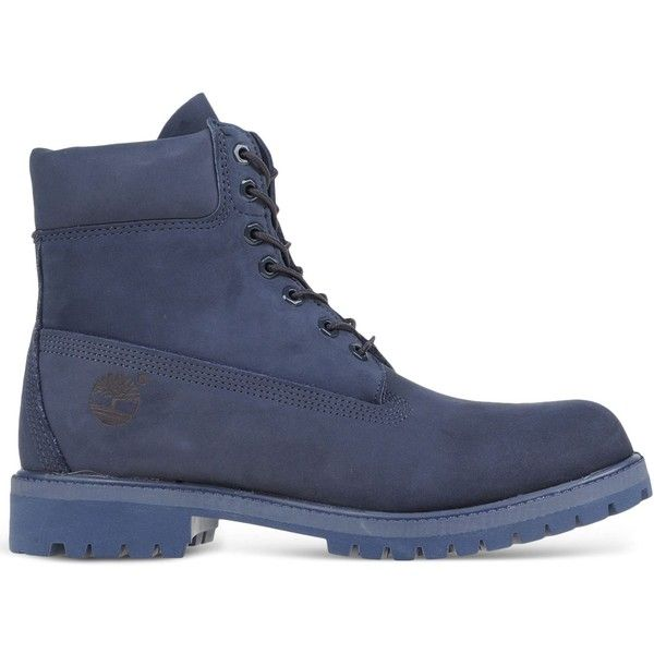 Timberland Ankle Boots (£180) ❤ liked on Polyvore featuring men's fashion, men's shoes, men's boots, dark blue, timberland mens boots, mens leather ankle boots, mens leather shoes, timberland mens shoes and mens leather boots