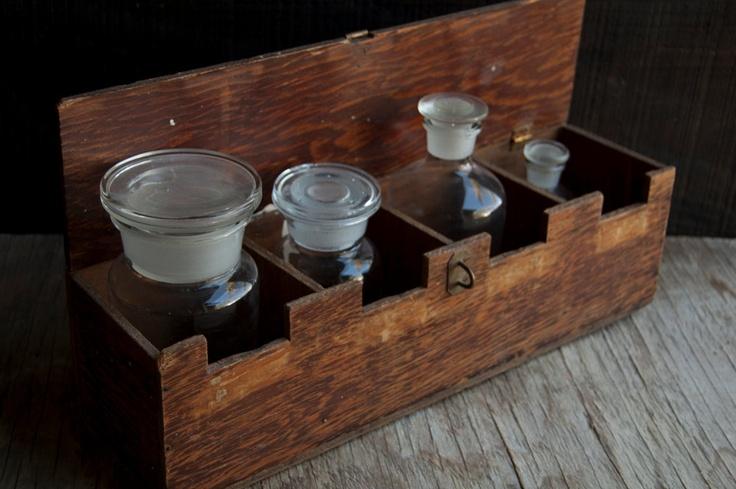 Wooden Merchantile Box - Victorian Rustic Storage. $32.00, via Etsy.