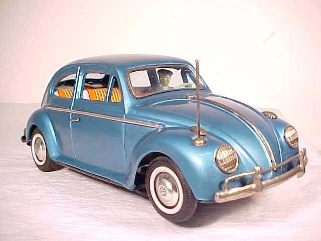 Vintage Bandai Volkswagen Sedan Battery Operated Bump