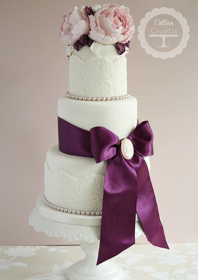 wedding cake www.tablescapesbydesign.com https://www.facebook.com/pages/Tablescapes-By-Design/129811416695 #laceweddingcakes