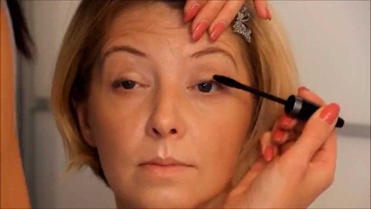 Макияж после 35 40 45 50 55 60 лет. Натуральный макияж. - YouTube
