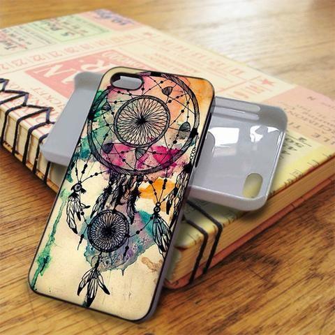 Water Color Dreamcatcher iPhone 5C Case