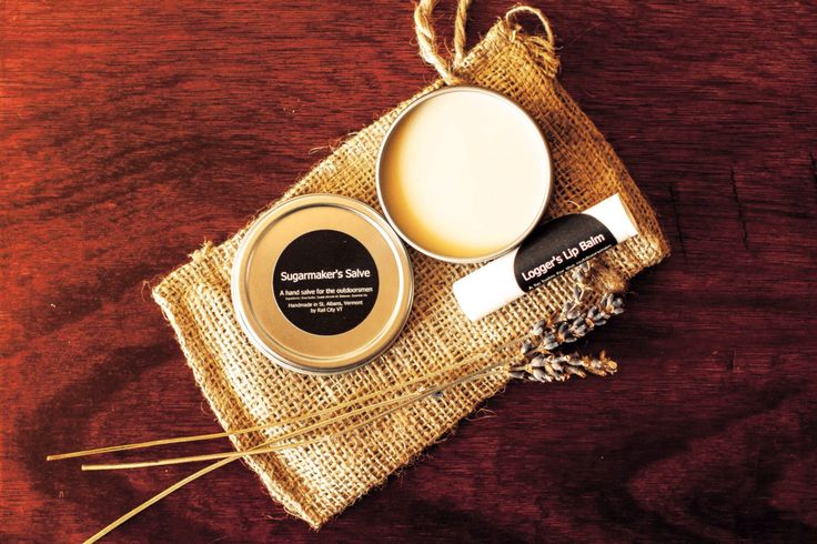 Outdoorswomen Sugarmaker's Hand Salve and Logger's Lip Balm Gift Bag by RailCityVT on Etsy https://www.etsy.com/listing/226486929/outdoorswomen-sugarmakers-hand-salve-and