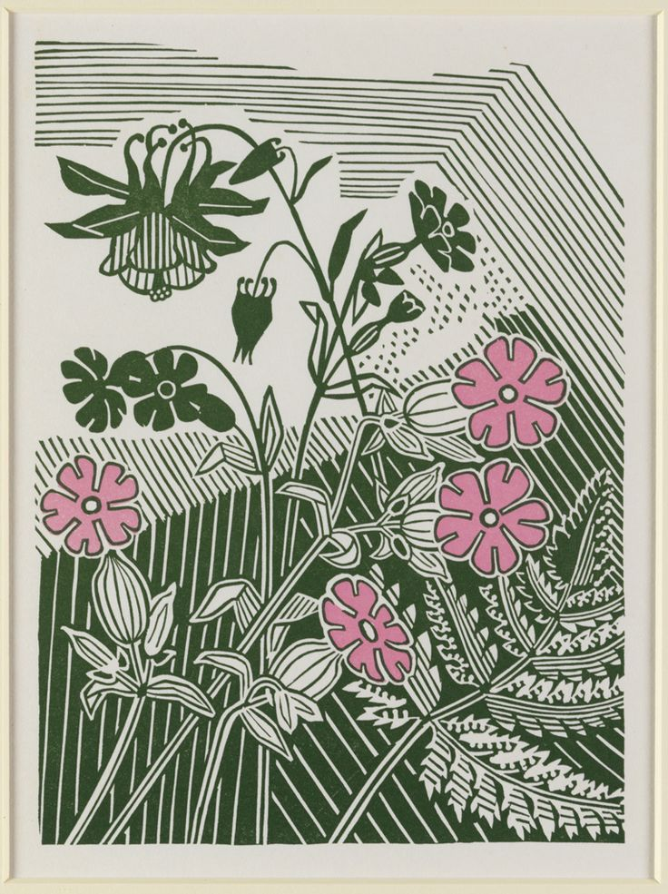 Campions and Columbines by Edward Bawden