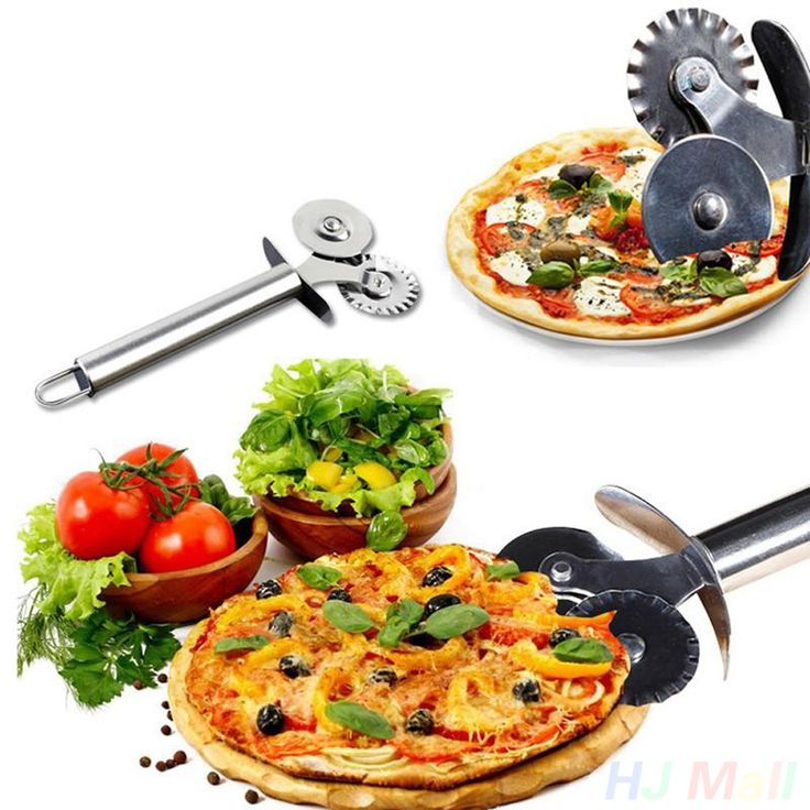 Double Pizza Roller Cutter #kitchen #home http://kgspot.com/index.php/product/double-pizza-roller-cutter/