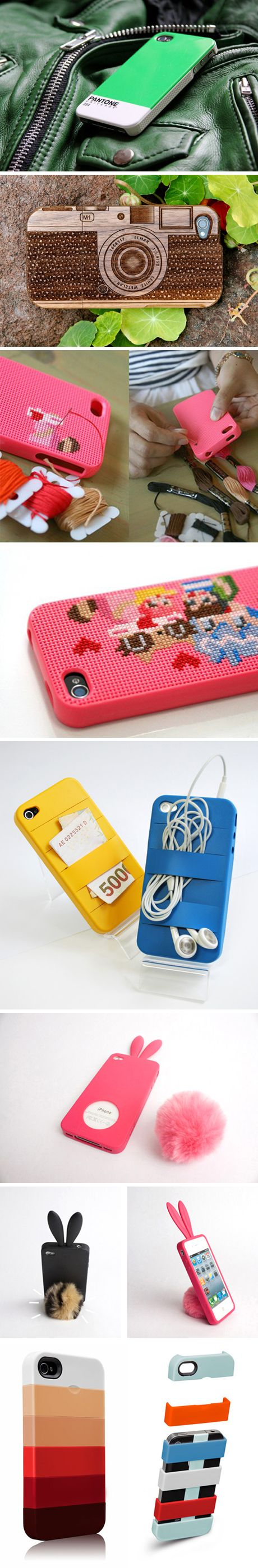 Phone cases. I want the bunny ear ones