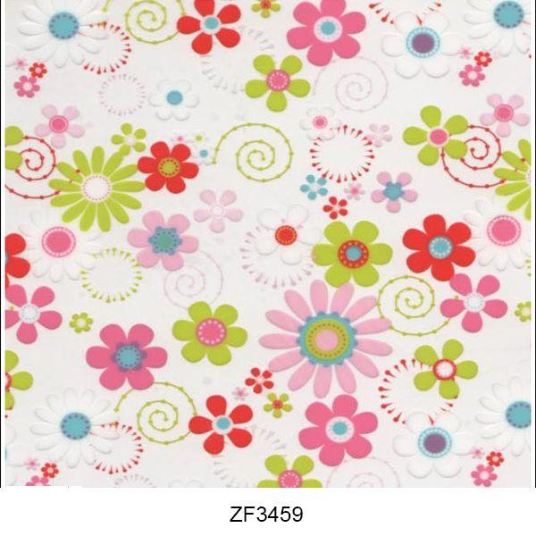 Hydro printing film flower pattern ZF3459