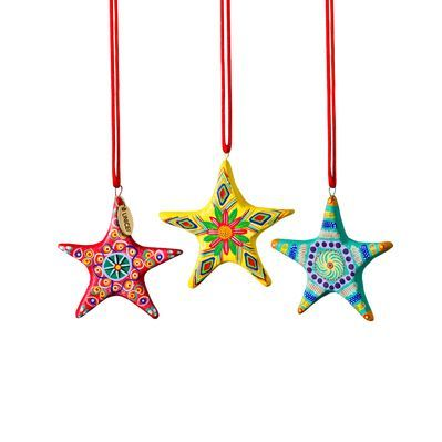Guatemalan Star Ornaments   UNICEF Cards and Gifts