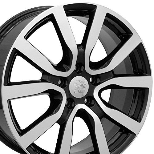 "18x7.5 Wheel Fits Volkswagen - VW Golf Style Black Rim w/Mach'd Face, Hollander 69943  Aftermarket product, not original equipment  Lifetime structural, one year face finish warranty.  Center cap included, Original center cap will interchange  Lugs/Bolts/Locks/TPMS are NOT Included. Discounted rates on these items are available by calling 941-921-0065 ext 315  Tire Pressure Monitoring System (TPMS) Compatible, Click ""See more product details"" below for additional important information."