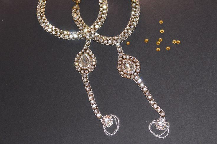 Maharani Toe Anklet Pair - Sokora Jewels