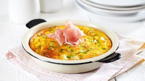 Oppskrift på Eggepanne med Crème Fraîche