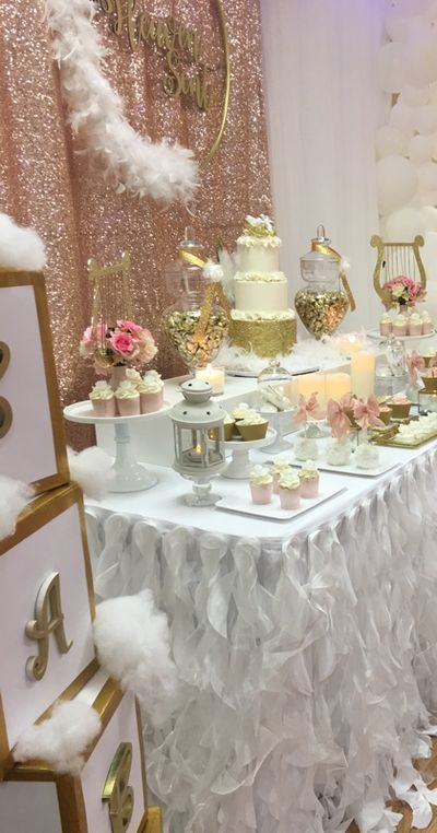 Heaven Sent Baby Shower in 2020 Angel baby shower Baby