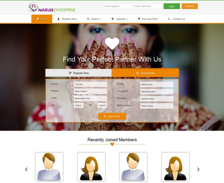 Are you interested in making out a fine website for matrimony? Then you must prefer best Matrimonial Software which can make your website unique in services.  For more info Contact us : +91 9662802018 Email : narjisenterprise@gmail.com Skype : narjisenterprise  More Details Visit : http://phpmatrimonialsoftware.com/