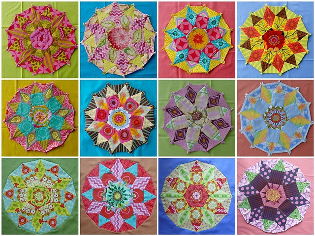 Gorgeous tesselations!: Quilts Patterns, Crafts Ideas, Quiltblock, Quilts Sewing, Fun Quilts, Tessel Blocks, Quilts Blocks Patterns, Circles Blocks, Quilts Ideas