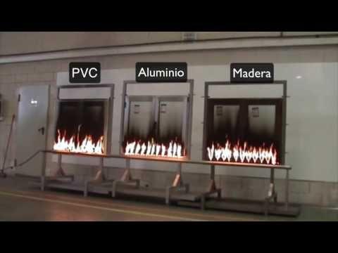 En caso de incendio, mejor el aluminio. — Extrual - Extruidos del aluminio