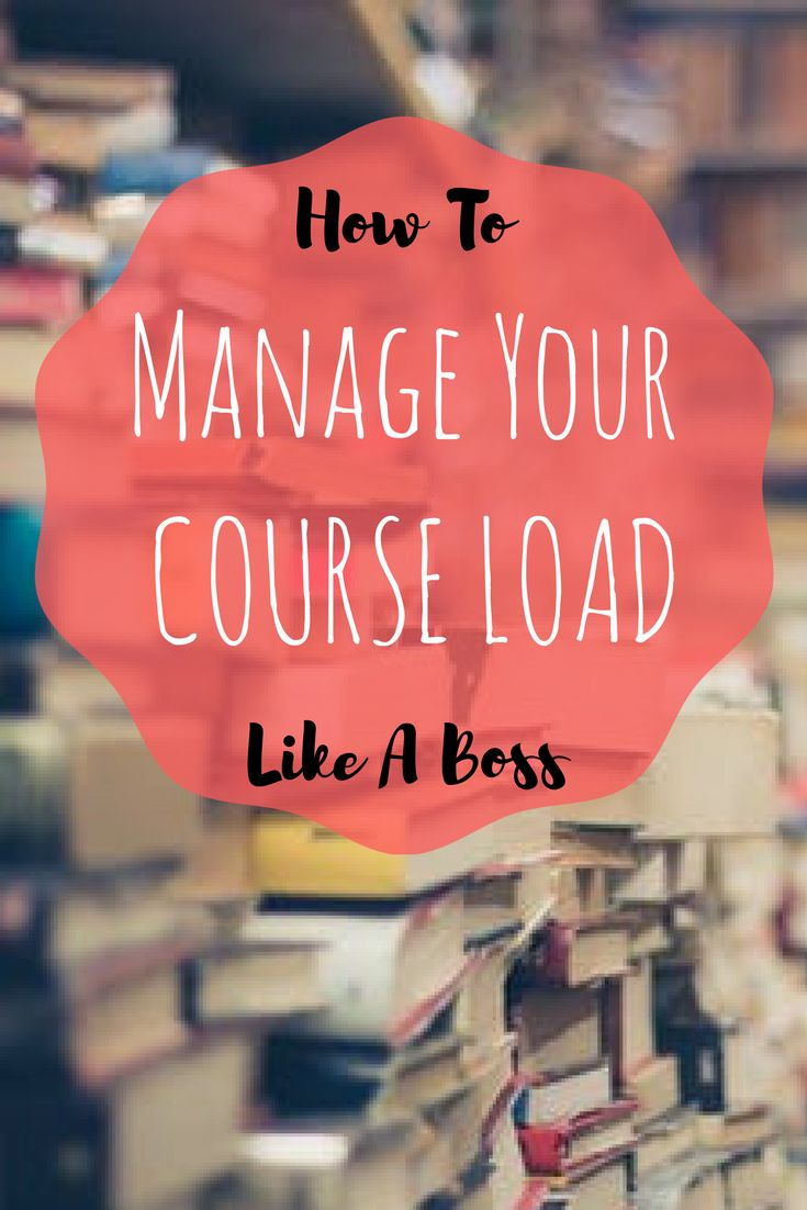 Managing Your Course Load | college | university | college tips | course load | studying | student | engineering | science | mathematics | technology | planner | planning | apps | campus life