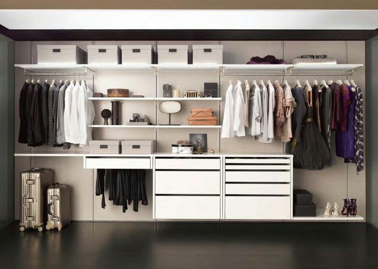 21 besten kleiderschrank Bilder auf Pinterest Ankleidezimmer - begehbaren kleiderschrank ordnungssysteme