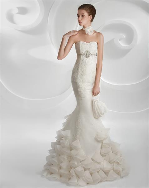 Свадебное платье русалка матрица