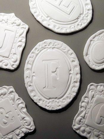 柔らかな質感が好き♡ほっこり可愛い「白粘土のオーナメント」を手作りしよう