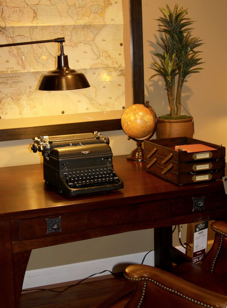 Lovely Do Work At This @Stickley Furniture Mission Desk.