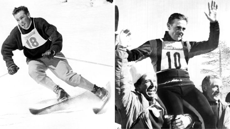 Jean Vuarnet dies at 83, Olympic champion was first to use metal skis and tuck position - LA Times